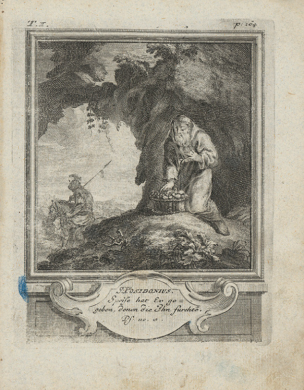 Michael Heinrich Rentz – Sv. Posidonius