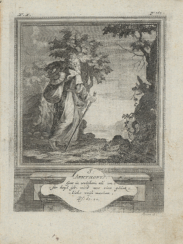 Michael Heinrich Rentz – Sv. Aphthonus
