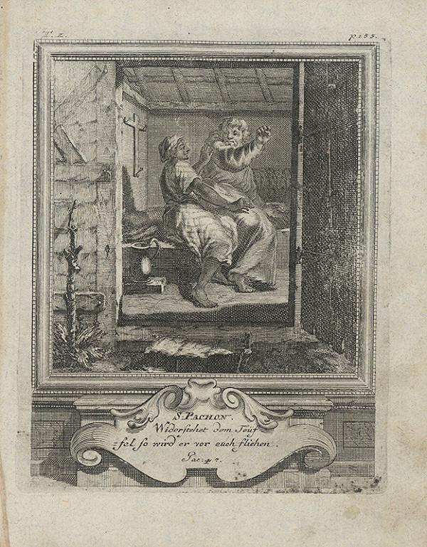 Michael Heinrich Rentz – Sv. Pachon