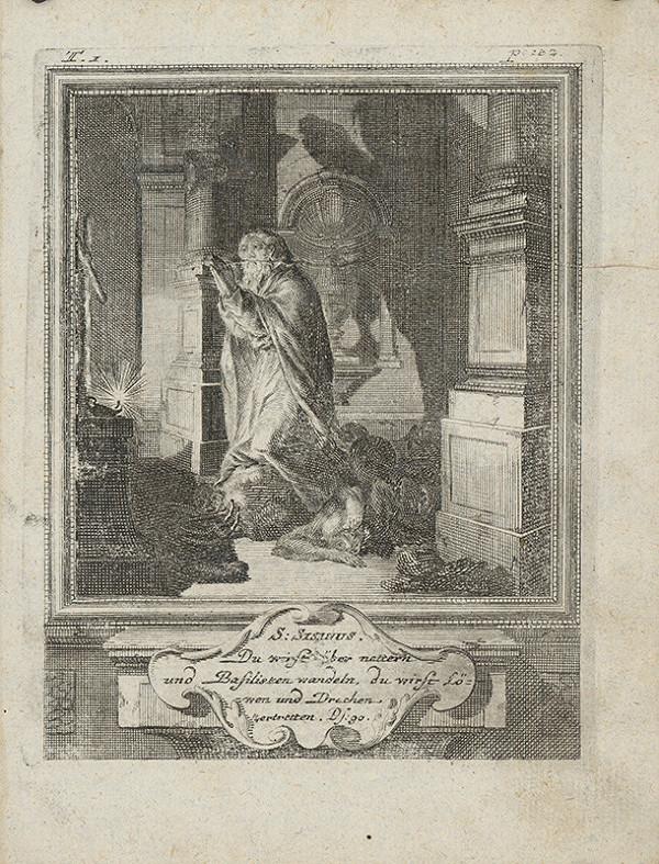 Michael Heinrich Rentz – Sv. Sisanus