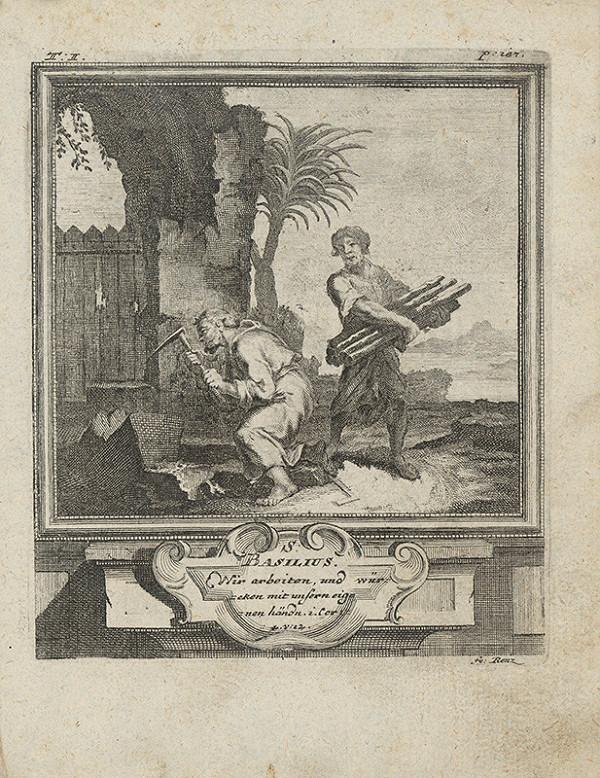 Michael Heinrich Rentz – Sv. Basilius
