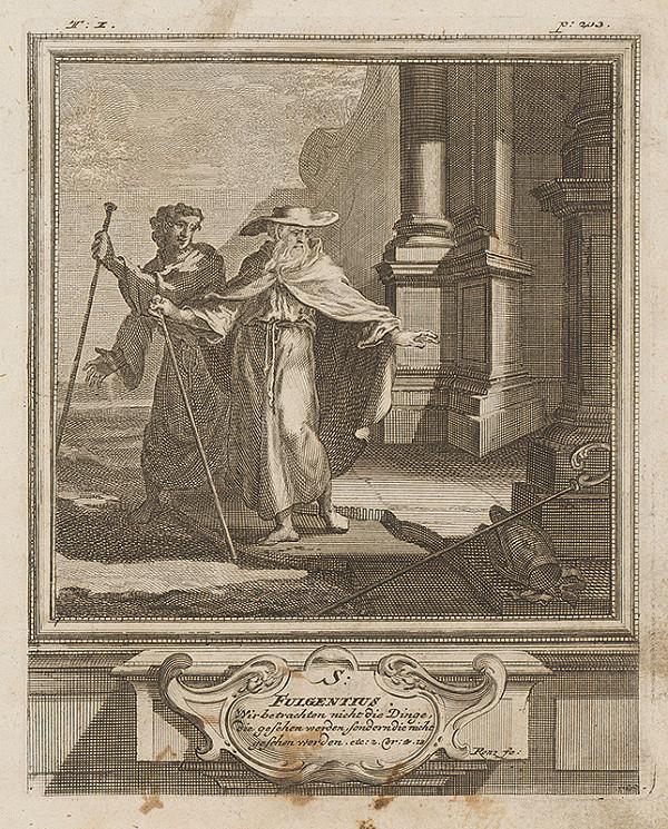Michael Heinrich Rentz – Sv. Fulgentius