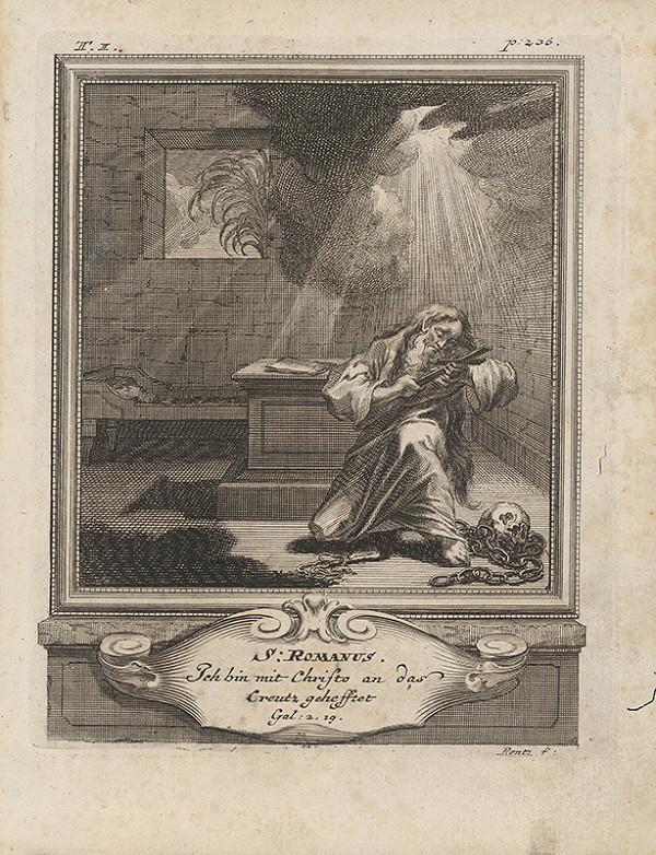 Michael Heinrich Rentz – Sv. Romanus