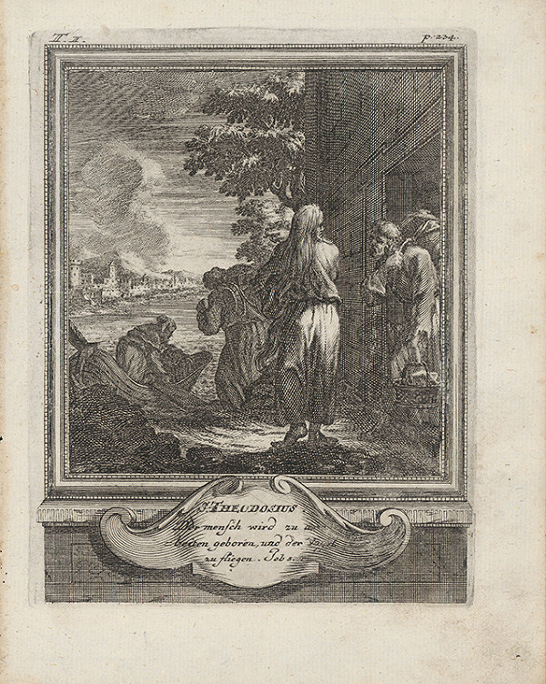 Michael Heinrich Rentz – Sv. Teodosius