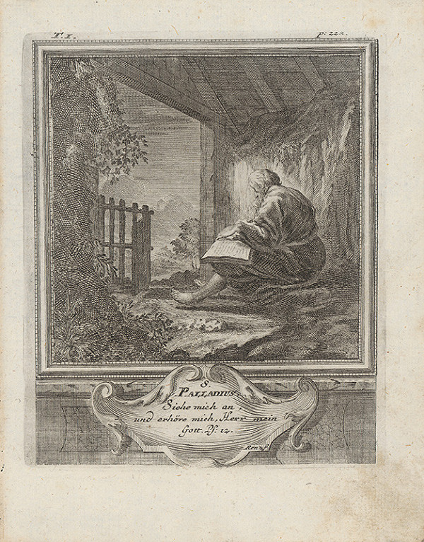 Michael Heinrich Rentz – Sv. Palladius