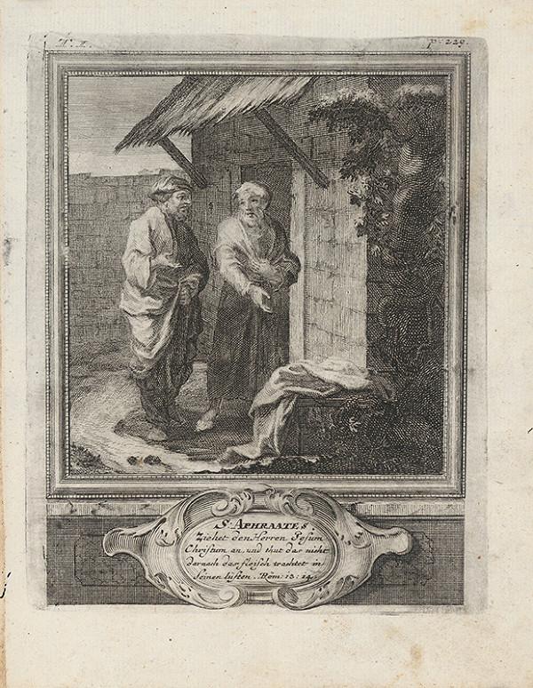Michael Heinrich Rentz – Sv. Aphraates