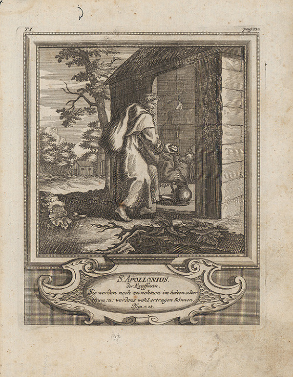 Michael Heinrich Rentz – Sv. Apollonius