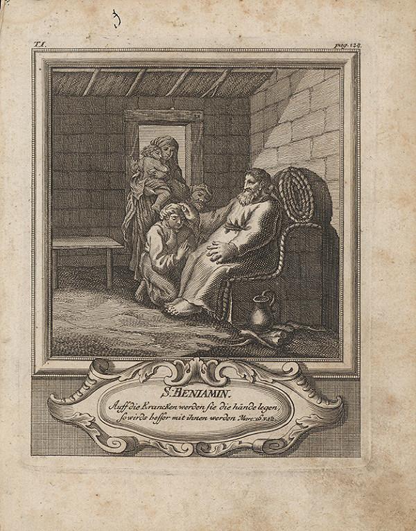 Michael Heinrich Rentz – Sv. Benjamin