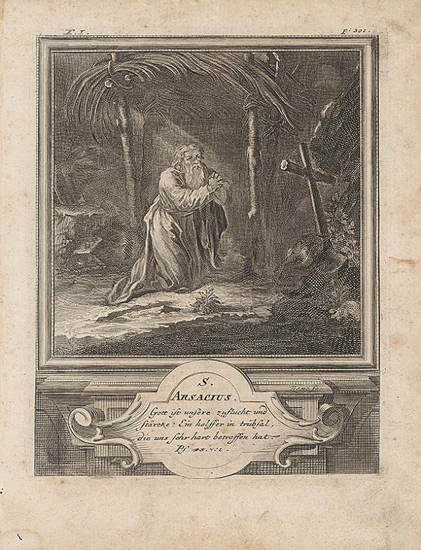 Michael Heinrich Rentz – Sv. Arsacius