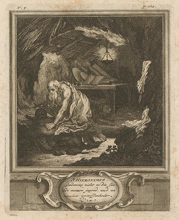Michael Heinrich Rentz – S. Hieronymus