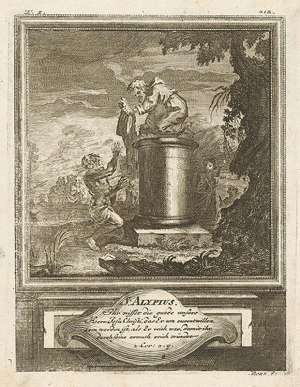 Michael Heinrich Rentz – S. Alypius