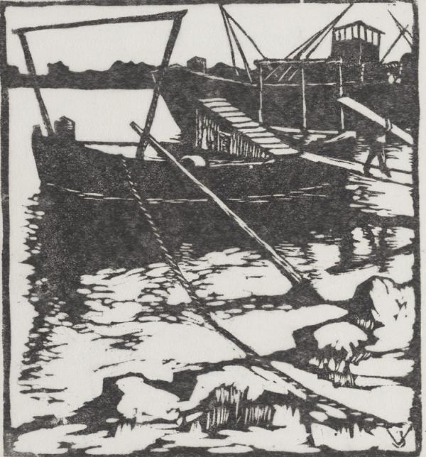 Jaroslav Votruba - Dunaj - prístav