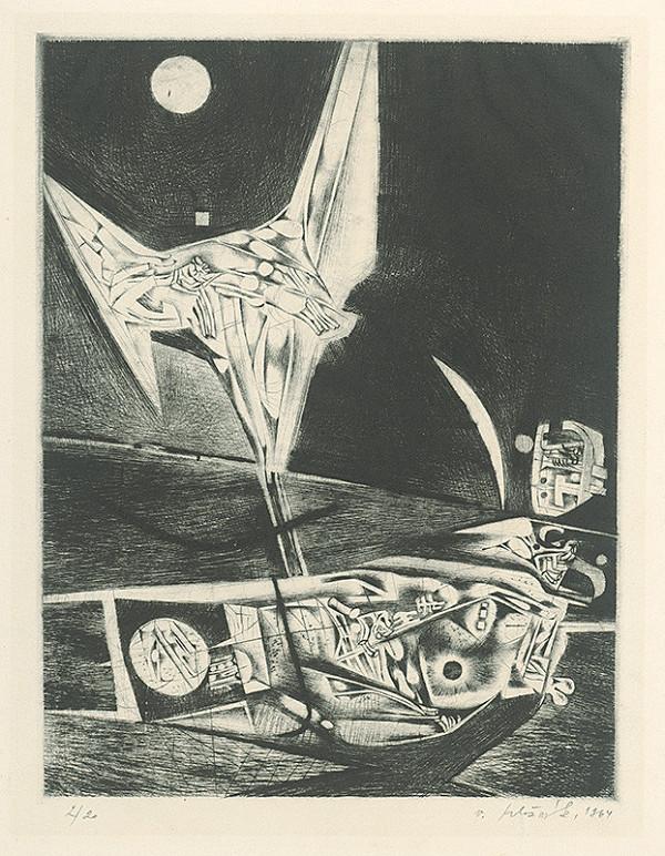 Vincent Hložník - List III. - z cyklu Pečate