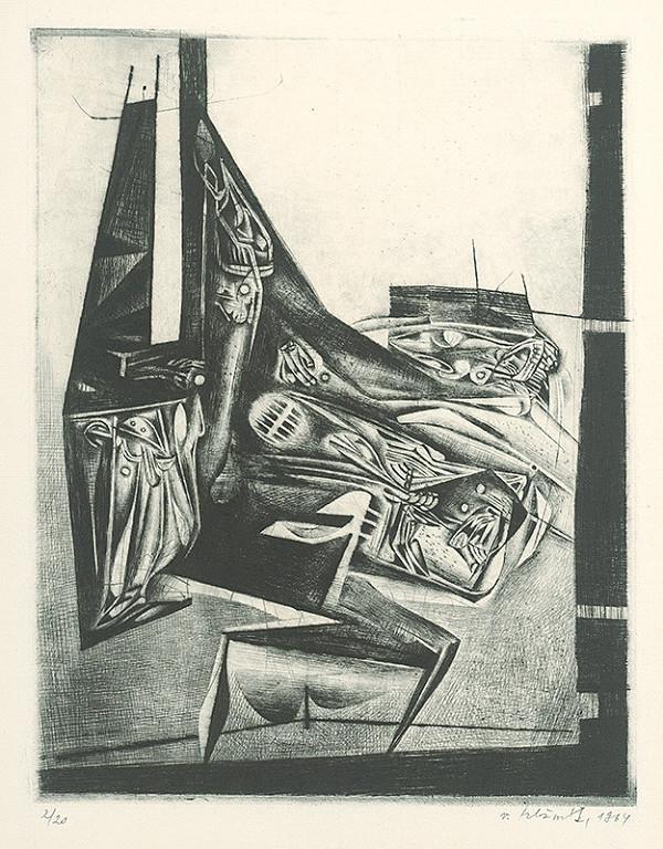 Vincent Hložník - List VII. - z cyklu Pečate