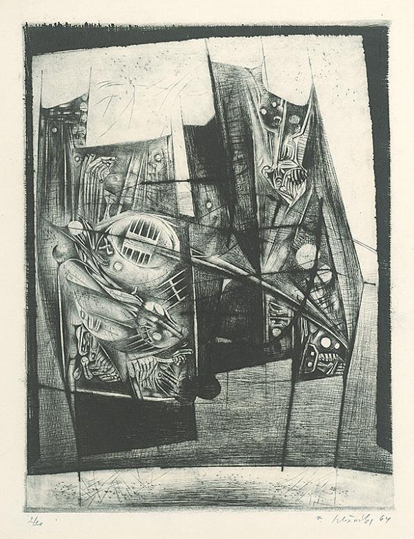 Vincent Hložník - List VIII. - z cyklu Pečate