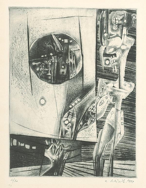 Vincent Hložník - List IX. - z cyklu Pečate