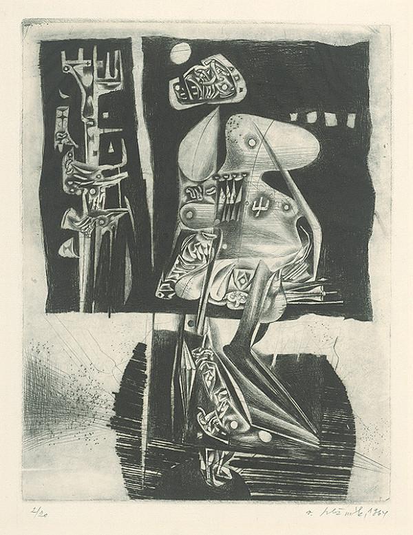 Vincent Hložník - List XIV. - z cyklu Pečate