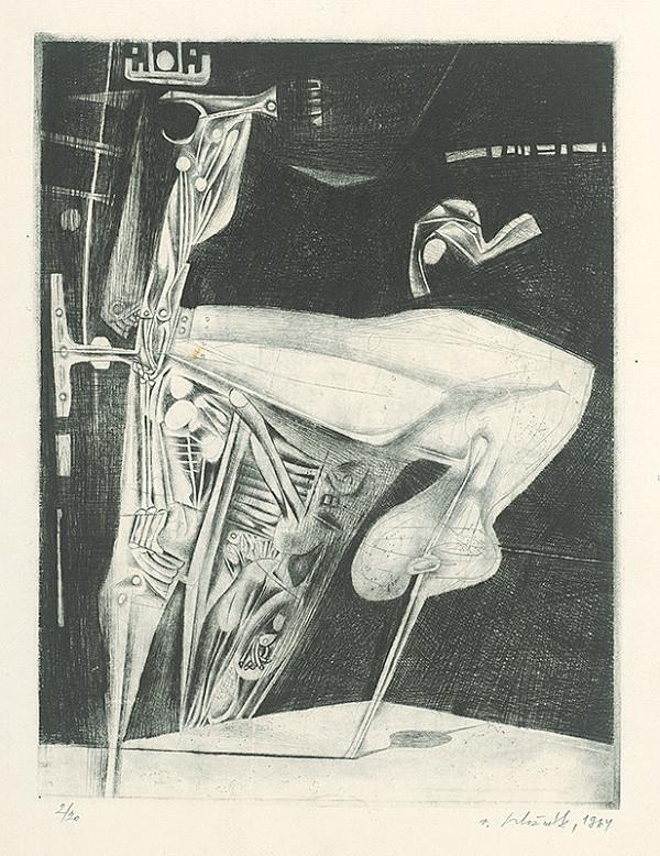 Vincent Hložník - List XVII. - z cyklu Pečate