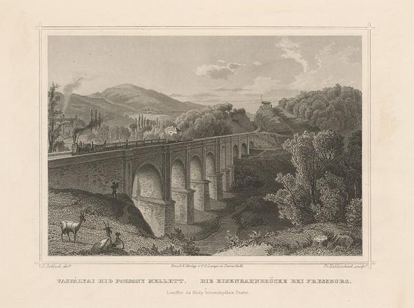 Franz Hablitschek, Ludwig Rohbock - Červený most v Bratislave