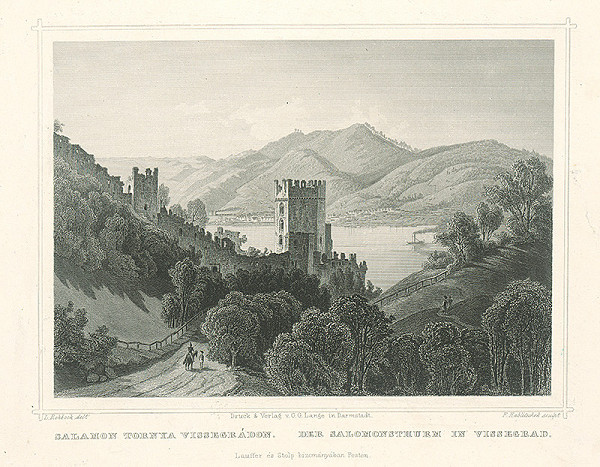 Franz Hablitschek, Ludwig Rohbock - Salamonova veža na Vissegrade