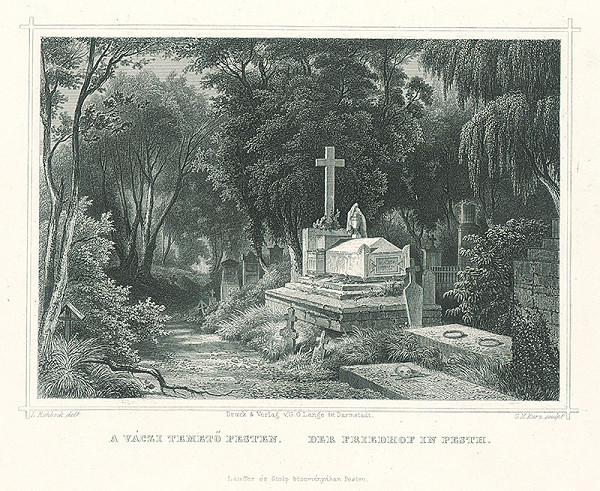 Ludwig Rohbock, Georg Michael Kurz - Cintorín v Pešti