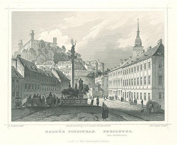 Ludwig Rohbock, Johann Gabriel Friedrich Poppel – Bratislava