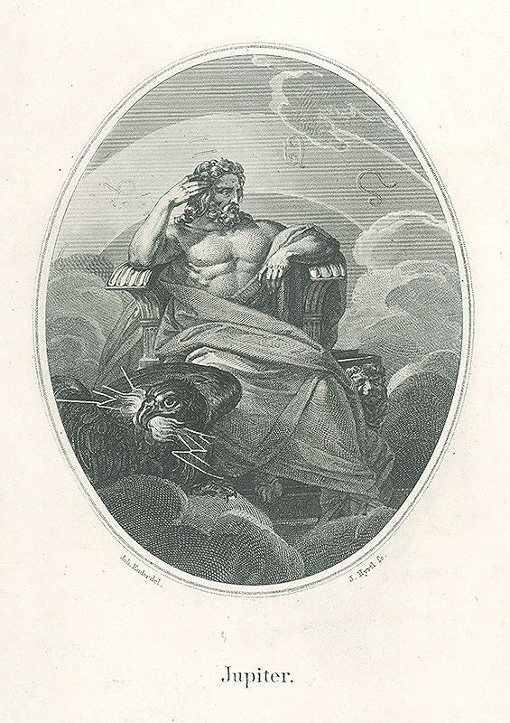 Jakob Hyrtl, Johann Nepomuk Ender - Jupiter