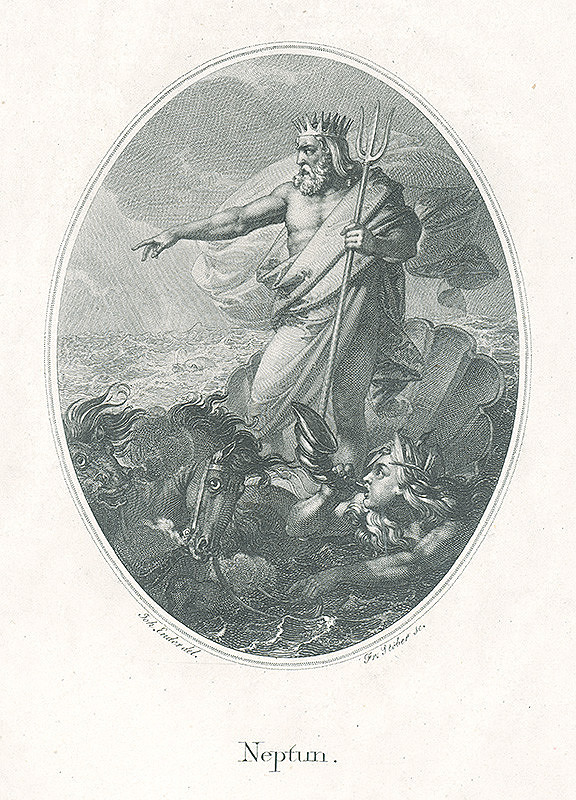 Franz Stöber, Johann Nepomuk Ender - Neptún