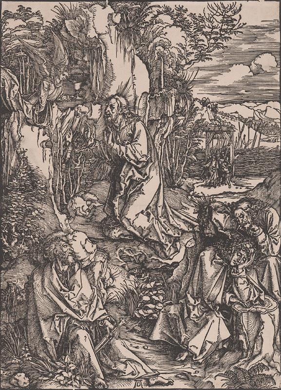 Albrecht Dürer – Kristus na hore Olivovej