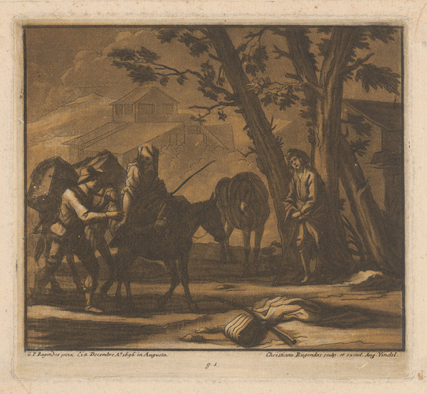 Christian Rugendas, Georg Philipp Rugendas st. - Pútnici