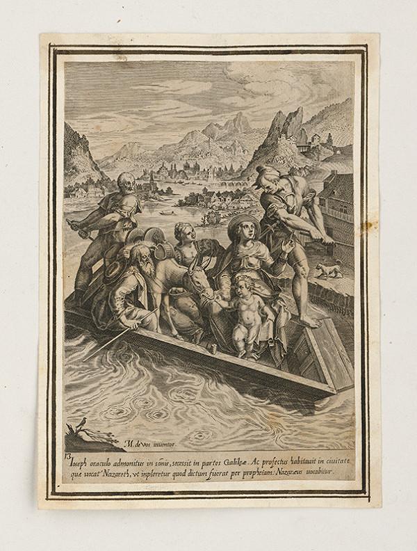 Maarten de Vos st. – Odchod rodičov s Ježiškom do Galicie
