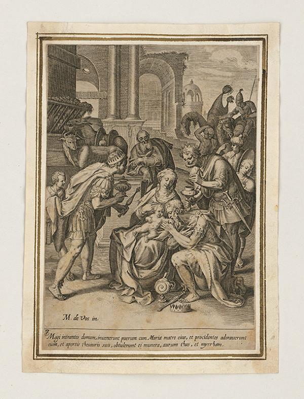 Maarten de Vos st. – Klaňanie Troch kráľov