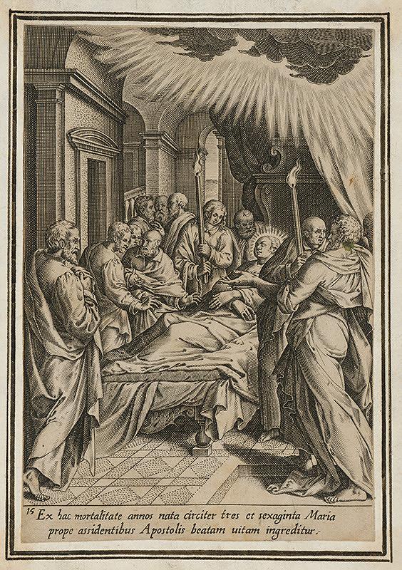 Maarten de Vos st. – Smrť Panny Márie