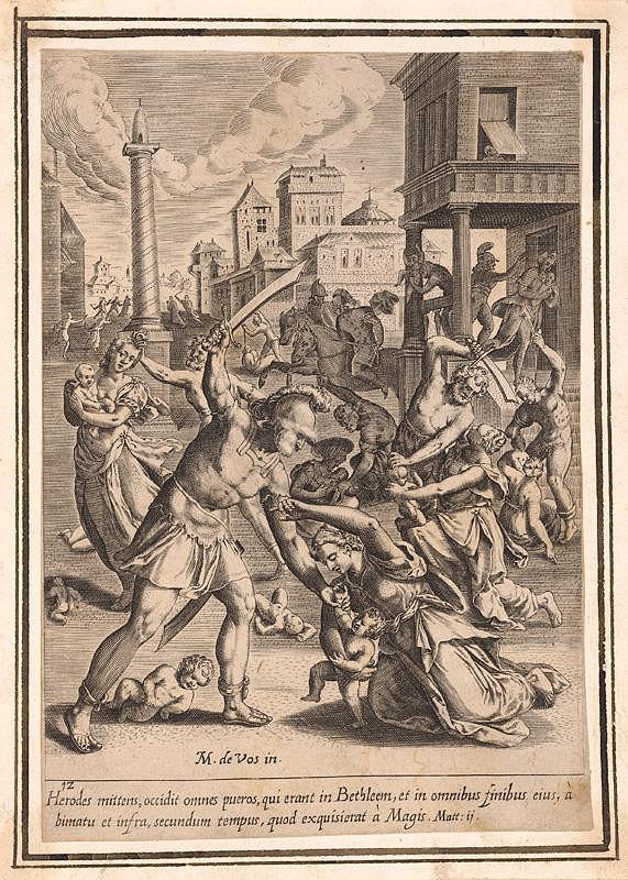 Maarten de Vos st. - Vraždenie neviniatok