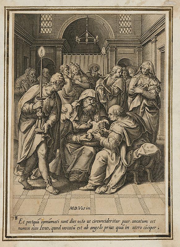 Maarten de Vos st. - Obriezka v chráme