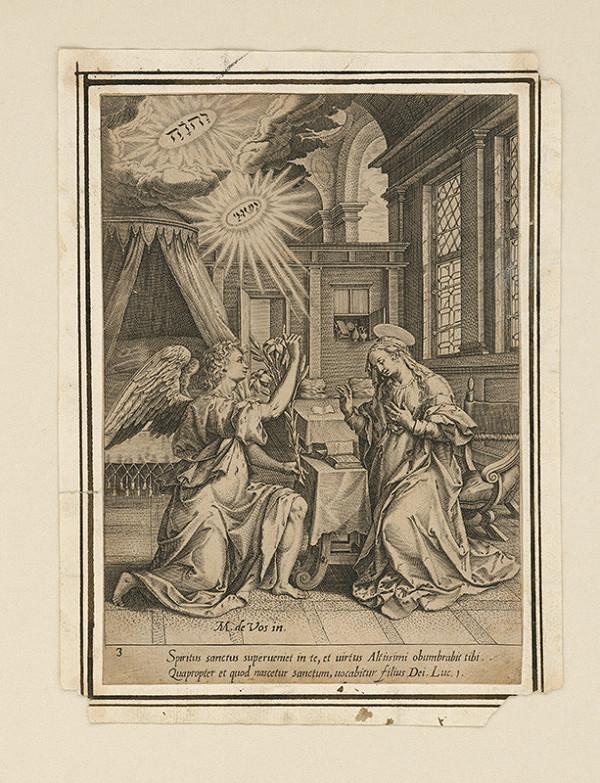Maarten de Vos st. - Zvestovanie