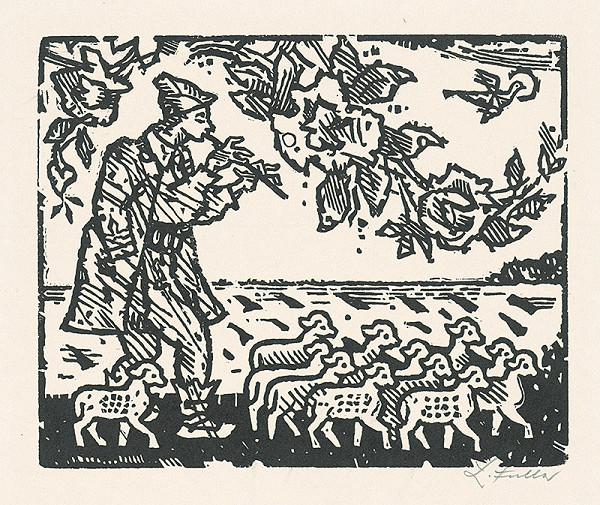 Ľudovít Fulla - Pastierik z Pohronia