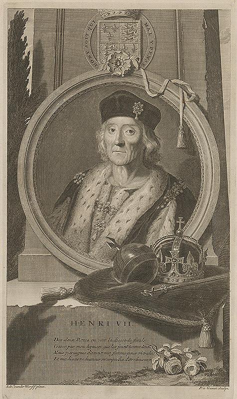 Pieter Stevens van Gunst, Adriaen van der Werff - Henri VII.