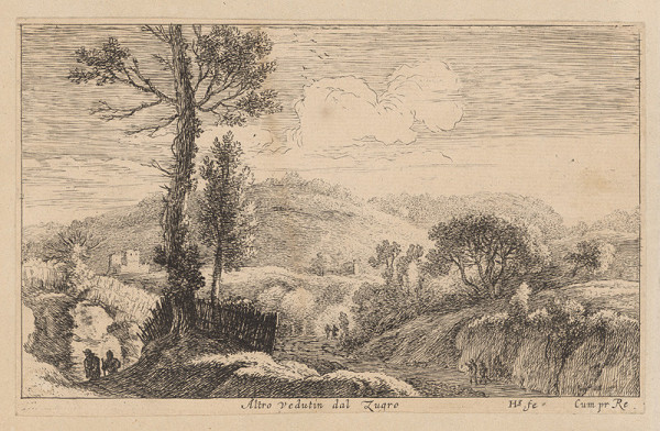 Herman van Swanevelt – Krajina so starým stromom