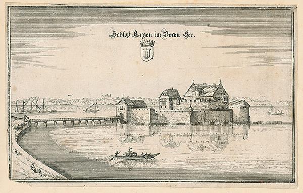 Nemecký autor zo 17. storočia – Schloss Argen im Boden See
