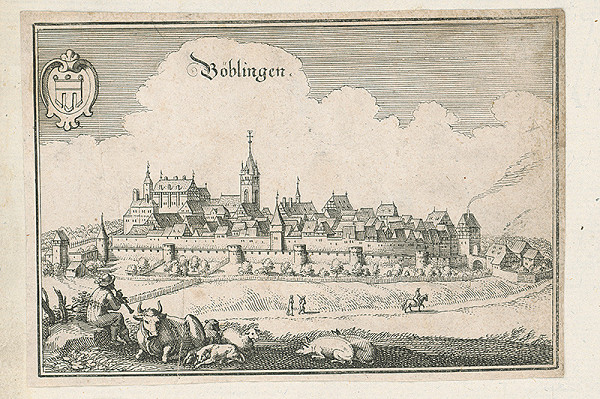 Nemecký autor zo 17. storočia - Böblingen