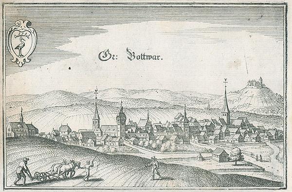 Stredoeurópsky grafik zo 17. storočia - Br.Gottwar