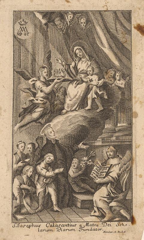 János Fülöp Binder - Svätý Jozef