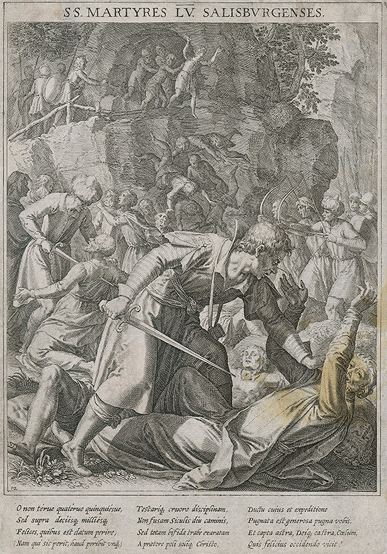 Marcus Sadeler - Salisburskí mučeníci