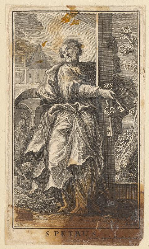 Jacob Andreas Fridrich - Svätý Peter