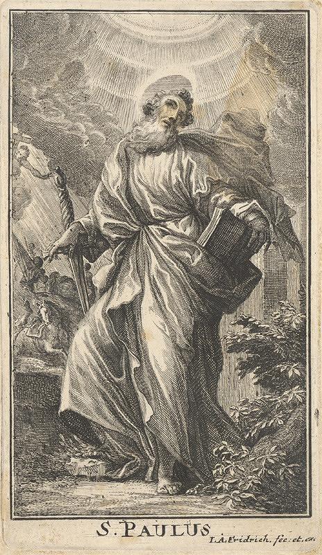 Jacob Andreas Fridrich - Svätý Pavol