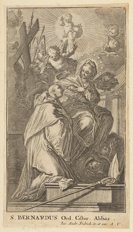 Jacob Andreas Fridrich - Svätý Bernard