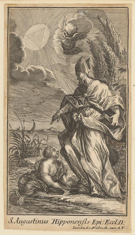 Jacob Andreas Fridrich - Svätý Augustín