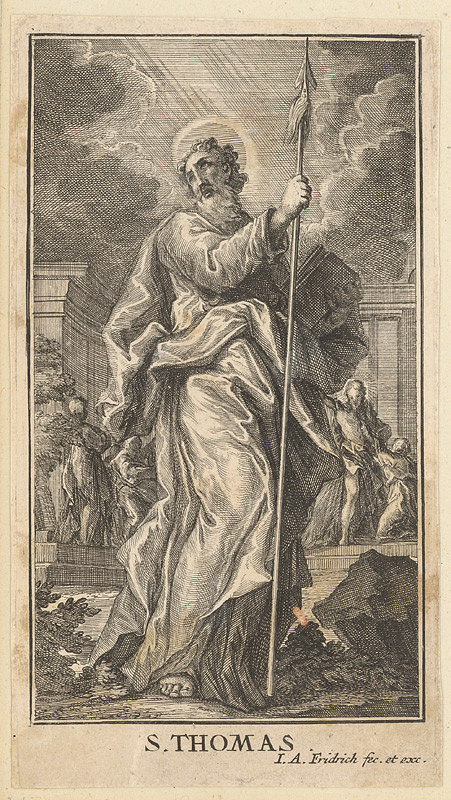 Jacob Andreas Fridrich - Svätý Tomáš