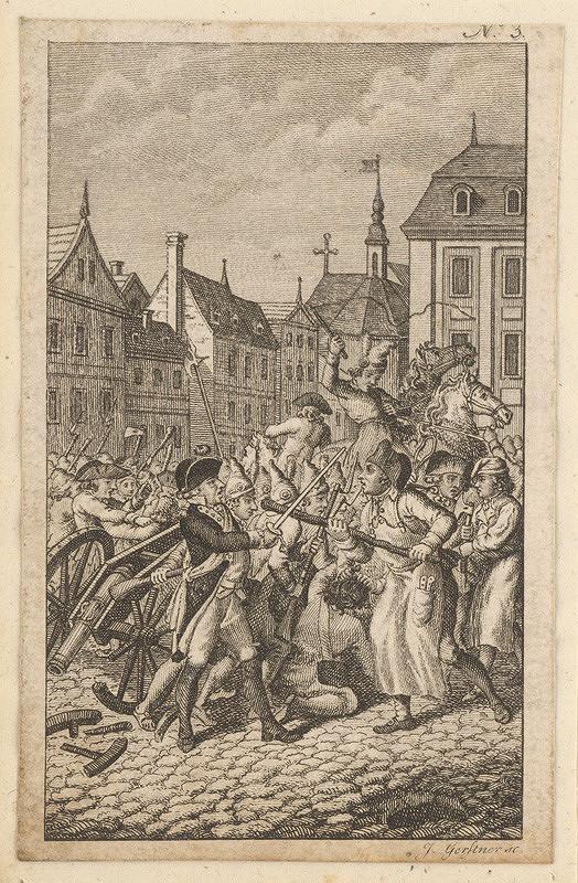 Joseph Gerstner – Výjav z Francúzskej revolúcie